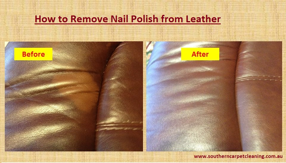 Cleaning Tips: How to Remove Nail Polish from Leather | Southern ...